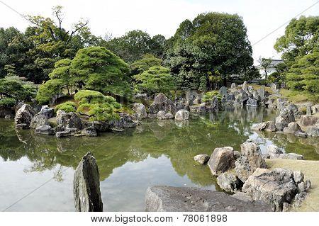 Ninomaru Garden In Kyoto