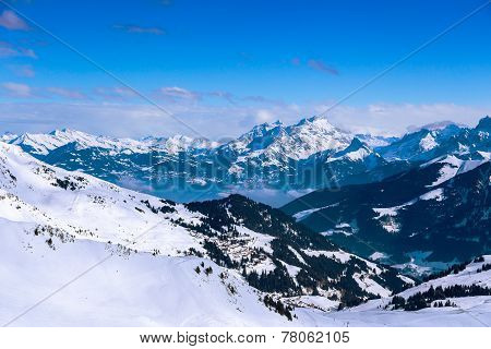 Views of the Diablerets, Switzerland