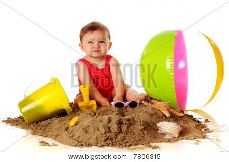 Sand Is Yucky!