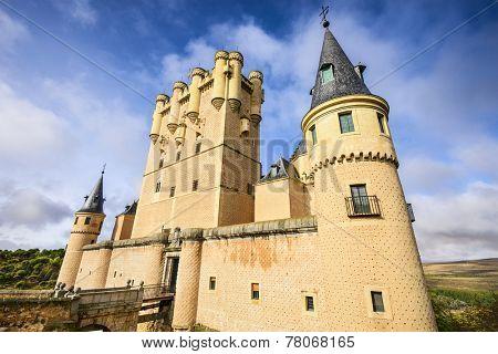 Segovia, Spain at the Alcazar.