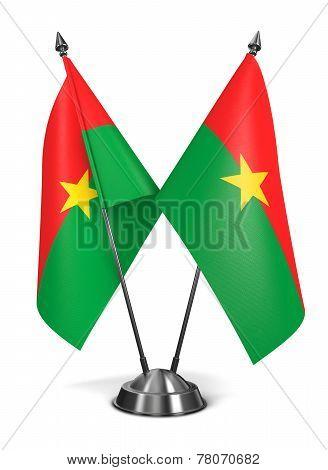 Burkina Faso - Miniature Flags.