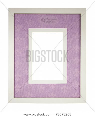 Vintage Frame Isolated