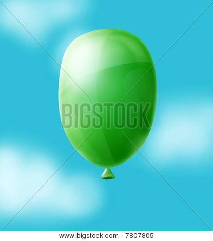 Balloon In Sly