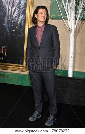 LOS ANGELES - DEC 9:  Orlando Bloom at the