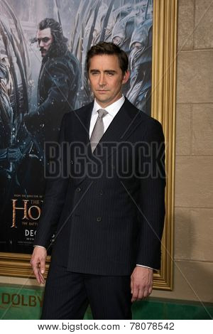 LOS ANGELES - DEC 9:  Lee Pace at the