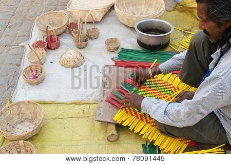 Wicker Baskets, Indian Handicrafts Fair At Kolkata