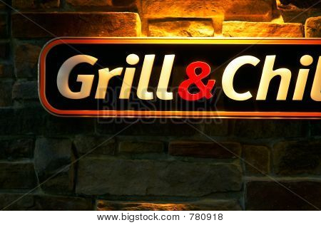 Grill sign