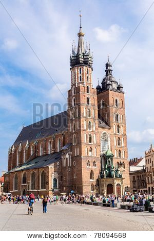 St. Mary's Church In Krakow