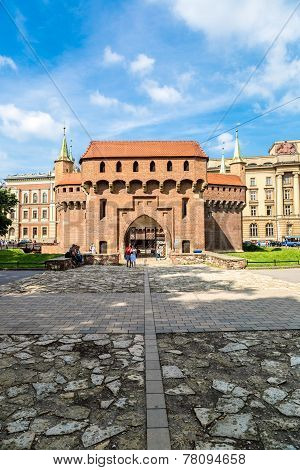 Barbican In Krakow, Poland