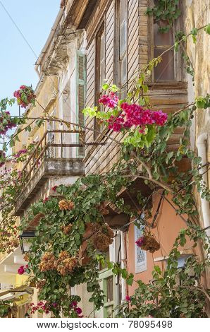 Rethymno on Crete, Greece