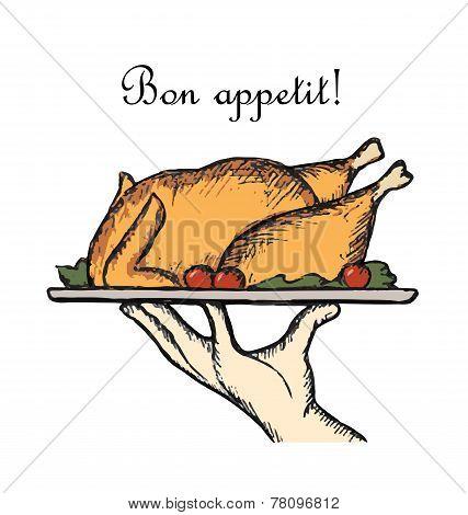 Bon Appetit Delicious Dish