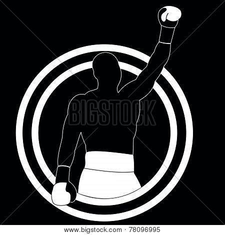 Boxer Winner - Vector Simple