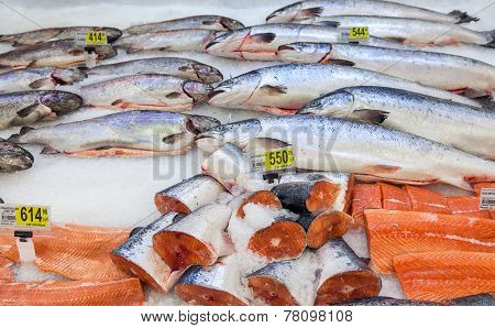 Raw Fish Ready For Sale