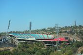 pic of armenia  - stadium Hrazdan in Yerevan  - JPG