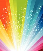 picture of summer fun  - Colorful disco banner for advertising web and many other issues - JPG