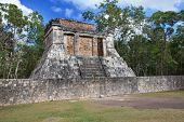 stock photo of yucatan  - Chichen Itza pyramid Yucatan Mexico  - JPG