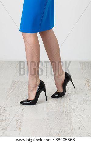 Skirt And High Heels