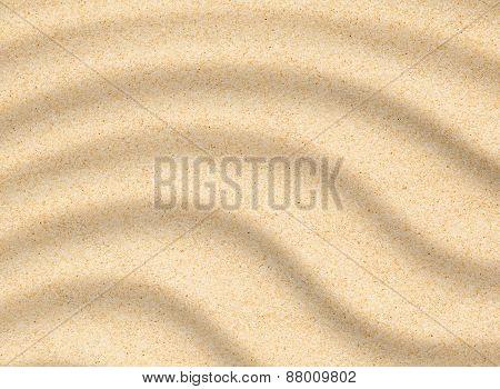 Sand beach closeup texture