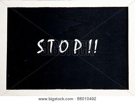 Blackboard For Advertising