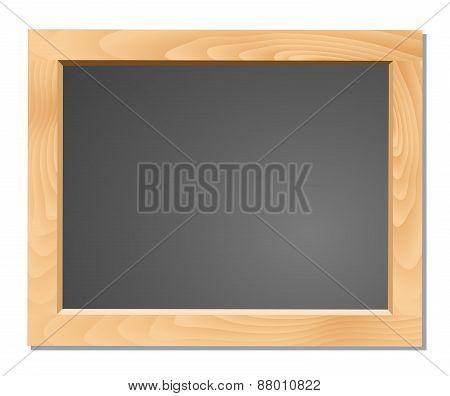 Wooden Black Chalkboard