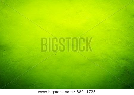 Green With Yellow Texture Background