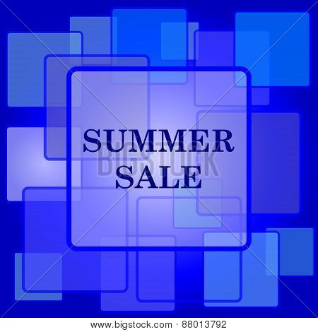 Summer Sale Icon