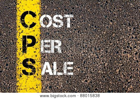 Acronym Cps - Cost Per Sale