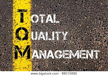 Acronym Tqm - Total Quality Management