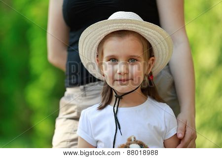 Child In A Light Hat