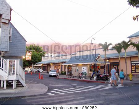 Street Scene, Lahaina, Maui, Hawaii
