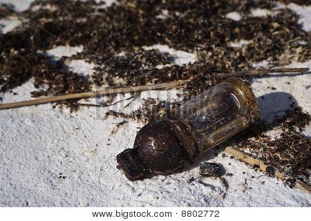 Oil Soaked Trash, Gulf Coast
