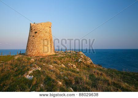 Torre Sant Emiliano Near Otranto, Province Of Lecce, Apulia, Italy.