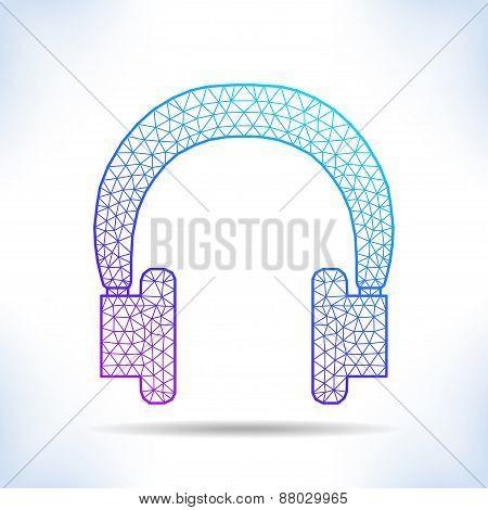 Geometric Headphones.