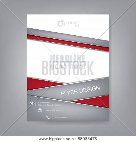 Abstract flyer or cover design, brochure, corporate banner
