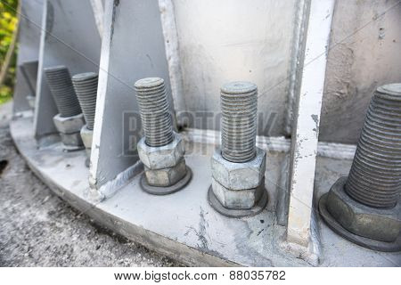 Bolt And Nut Of Transmission Monopole