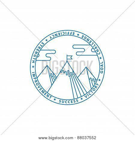 Blue Montains Logo