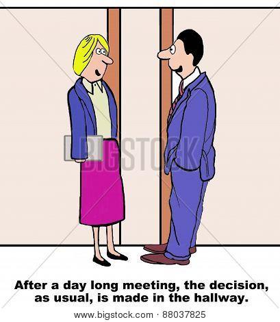 Hallway Decision