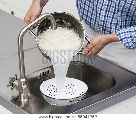 Draining Spaghettis