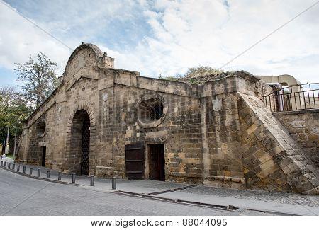 Famagusta Gate Historical Building Landmark, Nicosia Cyprus.
