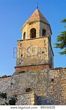 Historical church. Bovino. Puglia. Italy.