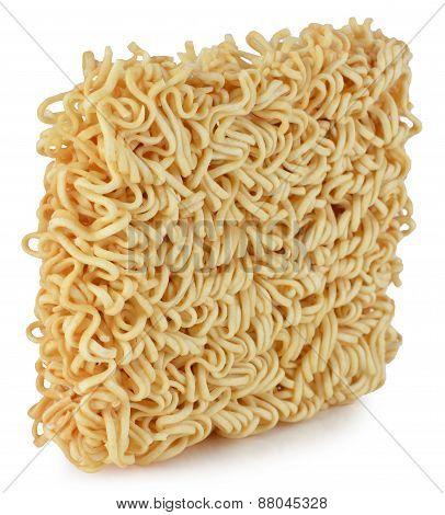 Briquette Of The Twisting Egg Noodles