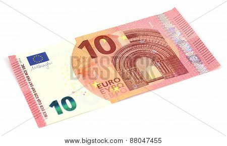 New Ten Euro Banknote