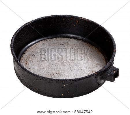 Old Empty Frying Pan