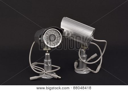 Security Camera. wire cctv camera