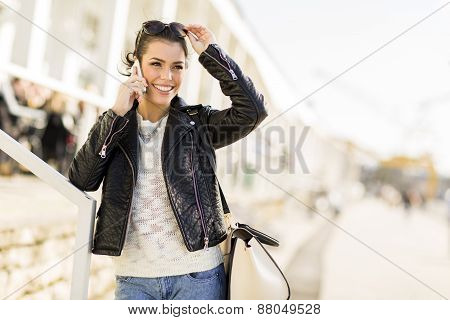 Young Woman With Mobile Phone