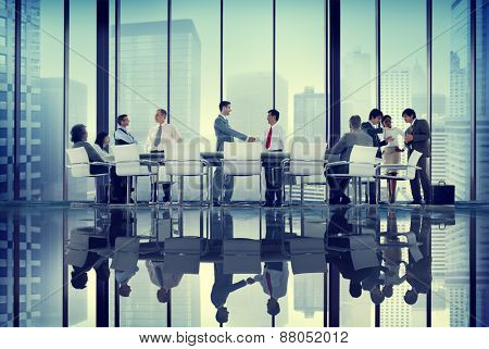 Diversity Business People Coorperate Professional Team Concept