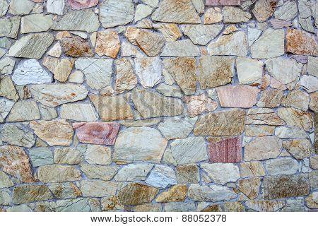 Decorative Stone Wall Textured