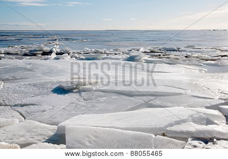 Ice on the Gulf of Finland