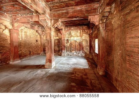 Ancient city of Fatehpur Sikri, India