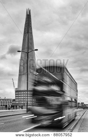 The Shard Of Glass Skyscraper Near London Bridge
